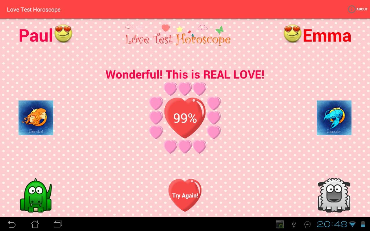 is it love test
